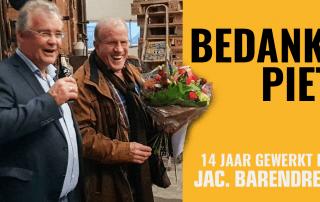 Afscheid Piet van Kooten