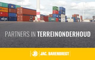 Terreinonderhoud bij Uniport Rotterdam