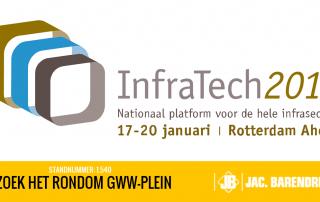 Infratech 2017 Jac. Barendregt Stichting Rondom GWW Plein