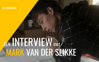 Mark van der Slikke interview stagiair stage Jac Barendregt