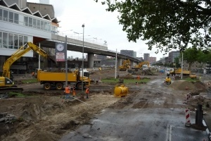 zuiderkruis rotterdam verharding grondwerk RIOLERING