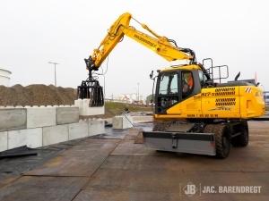 nieuwe kraan Exxon Mobil Jac Barendregt Botlek werkzaamheden