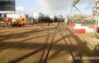 Cerexagri: wegconstructie nabij waterzuivering