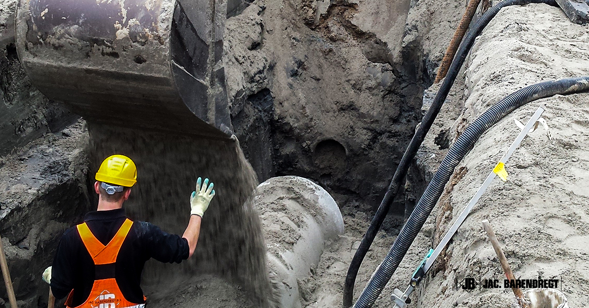 werk vlaardingen 6 vettenoordsepolder riolering